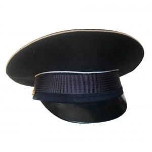 Фуражка ВМФ черная с белыми кантами VMF012