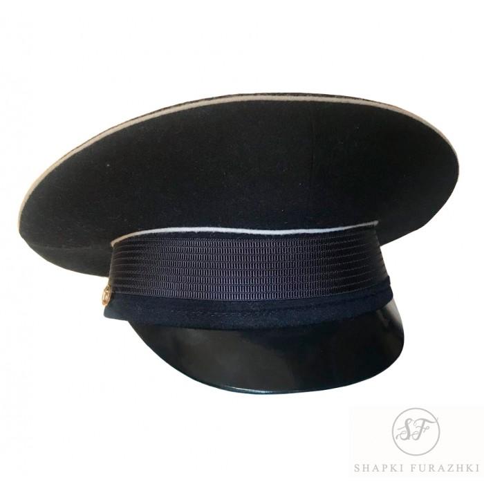 Фуражка ВМФ офицерская модельная VMF012 (цена указана без учета фурнитуры)