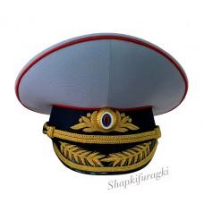 Фуражка парадная МВД с ручной вышивкой F127