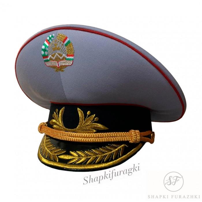 Фуражка с машинной вышивкой, Таджикистан