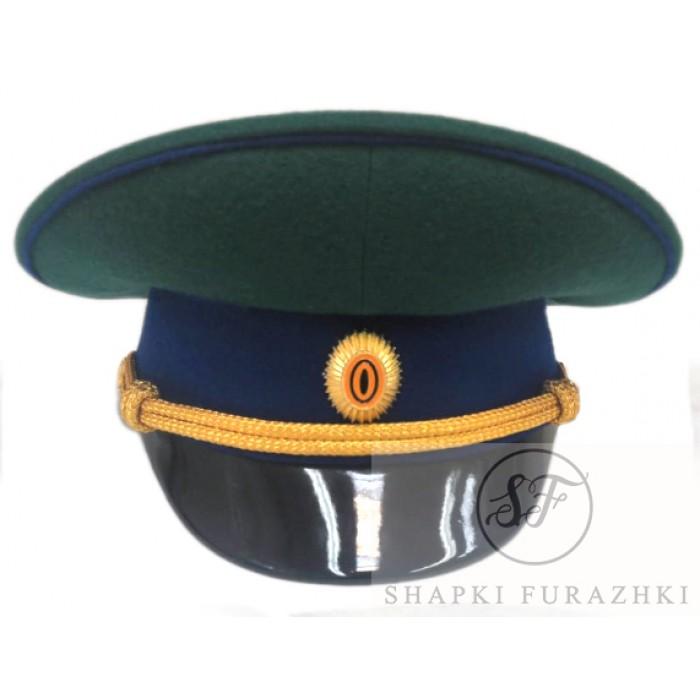 Фуражка Пограничных войск нового образца P003 (цена указана без учета фурнитуры)