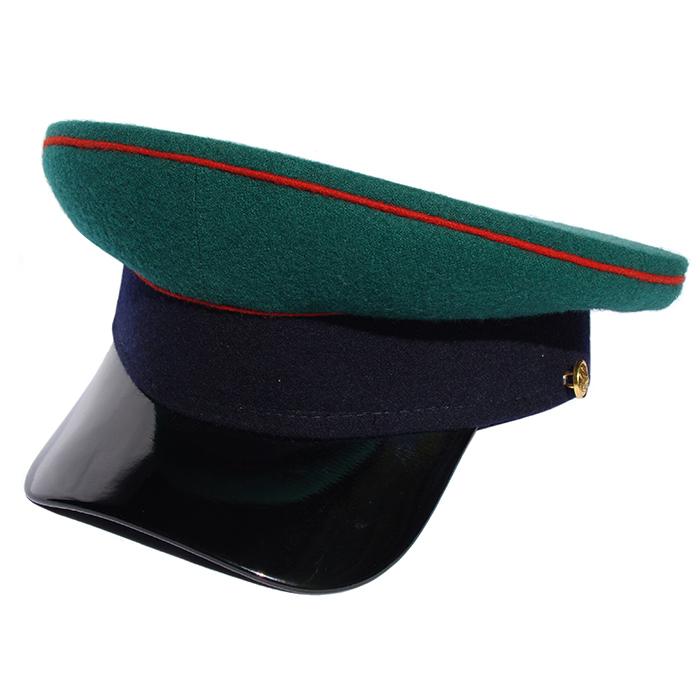 Фуражка Пограничных войск СССР P002 (цена указана без учета фурнитуры)