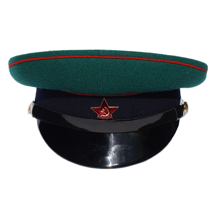 Фуражка Пограничных войск СССР P004 (цена указана без учета фурнитуры)