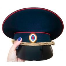 Фуражка Полиции рипстоп с высокой тульей F013-2