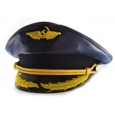 Яхтсменка синяя кожа Y283
