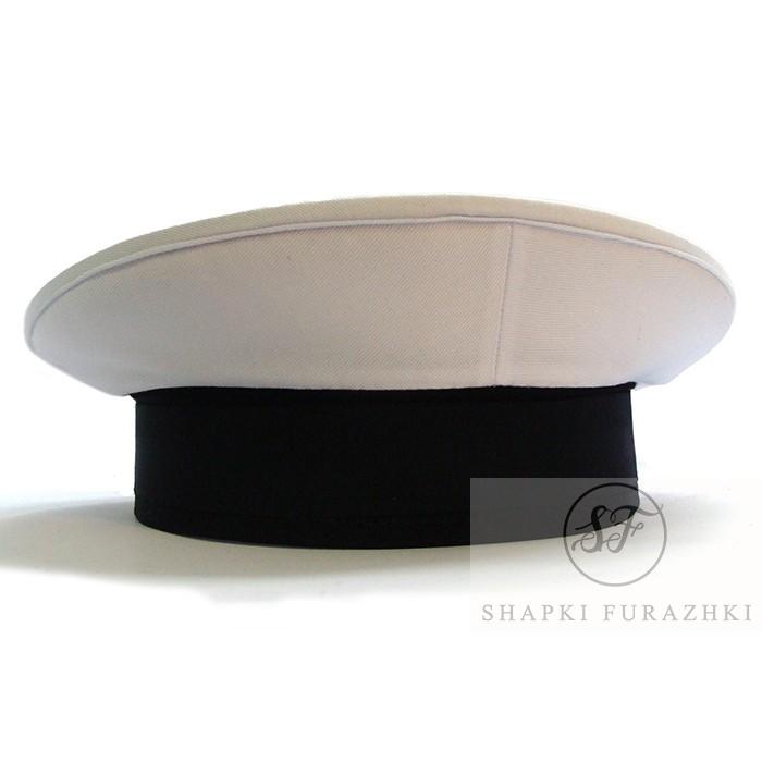 Бескозырка Военно-морского флота с белым верхом (Цена указана без ленты и фурнитуры)