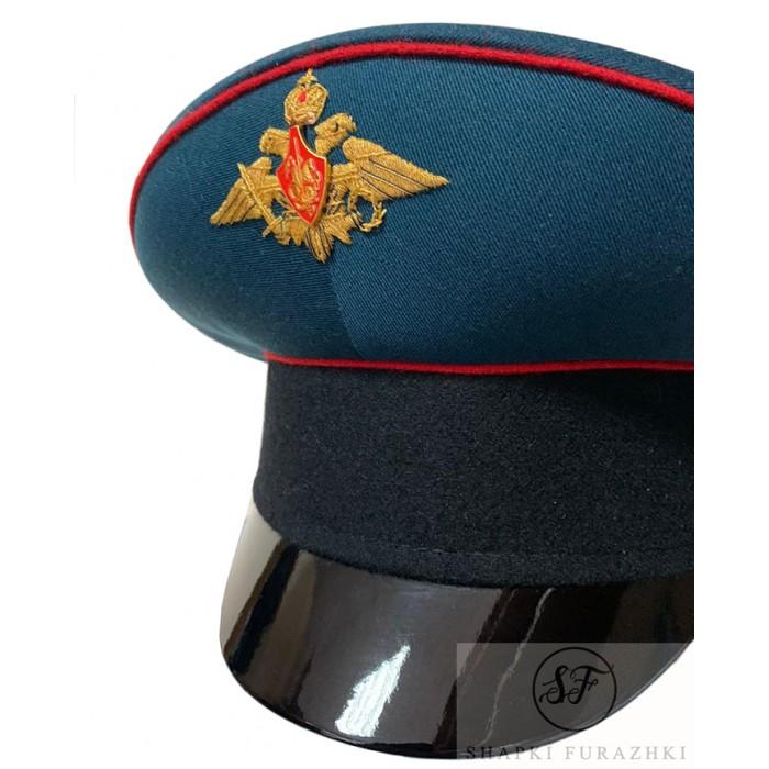 Фуражка Министерства Обороны, ручная вышивка, черный окол