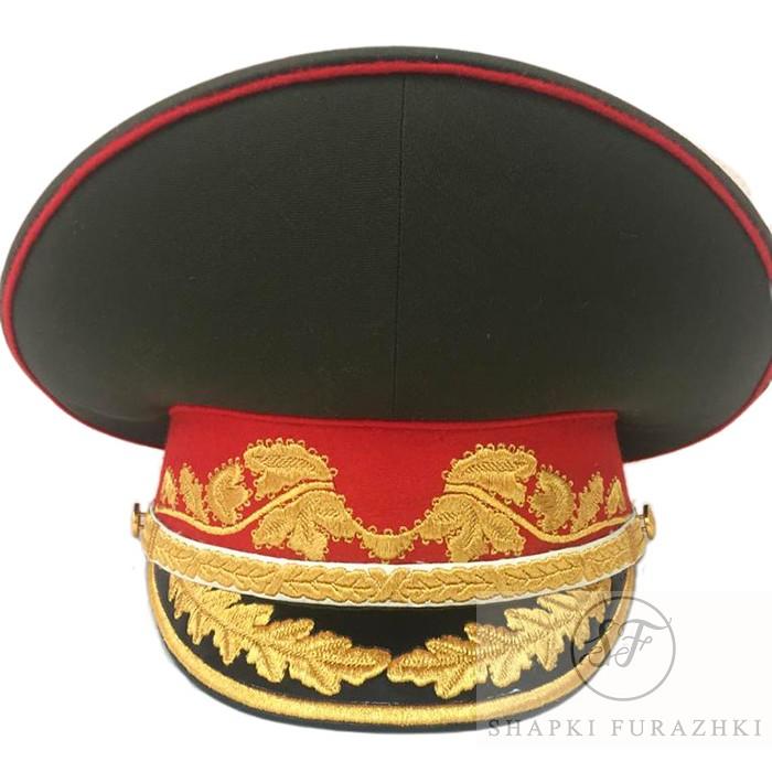 Фуражка генералов, маршалов (образца 2015-2020) комбинированная вышивка, по индивидуальному заказу