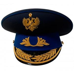 Фуражка форменная с ручной вышивкой F153