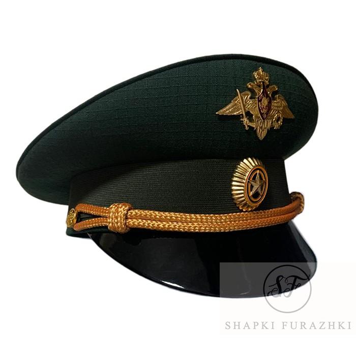 Фуражка офисная зеленая рип-стоп с фурнитурой, индивидуальный пошив