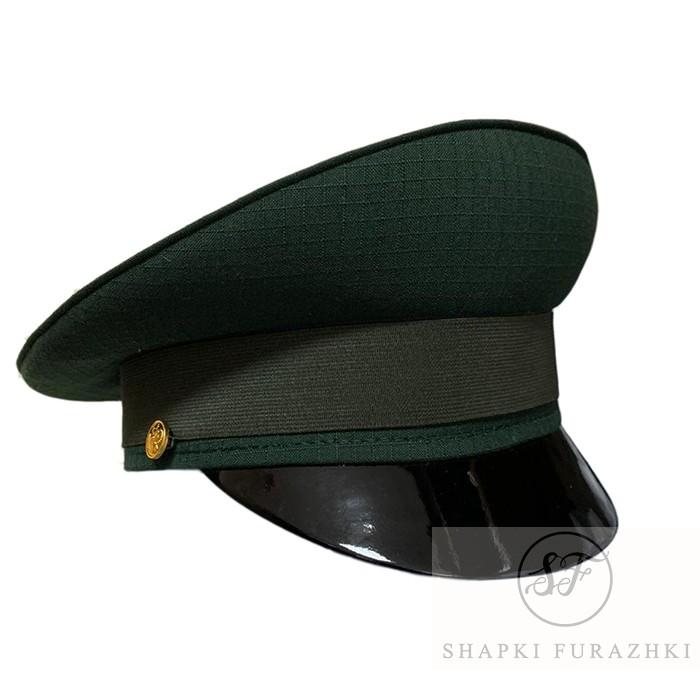 Фуражка офисная зеленая рип-стоп, индивидуальный пошив