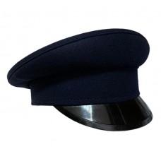 Фуражка синего цвета с пластиковым козырьком HC045