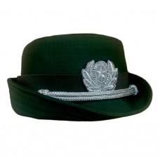 Женская офисная шляпка олива F165