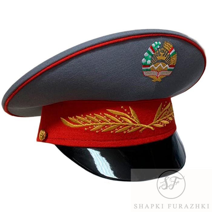 Фуражка Республика Таджикистан, машинная вышивка