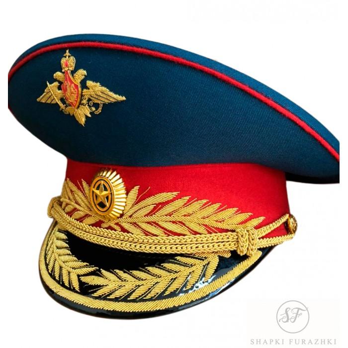 Фуражка для высшего состава с вышивкой и фурнитурой F115-1