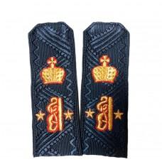 Погоны, индивидуальный пошив с вышивкой P096