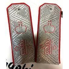 Погоны, индивидуальный пошив с вышивкой P097