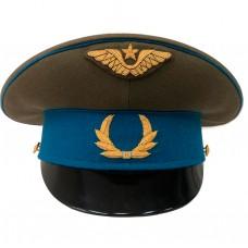 Фуражка ВВС 40-х годов, ручная вышивка (канитель) HC077