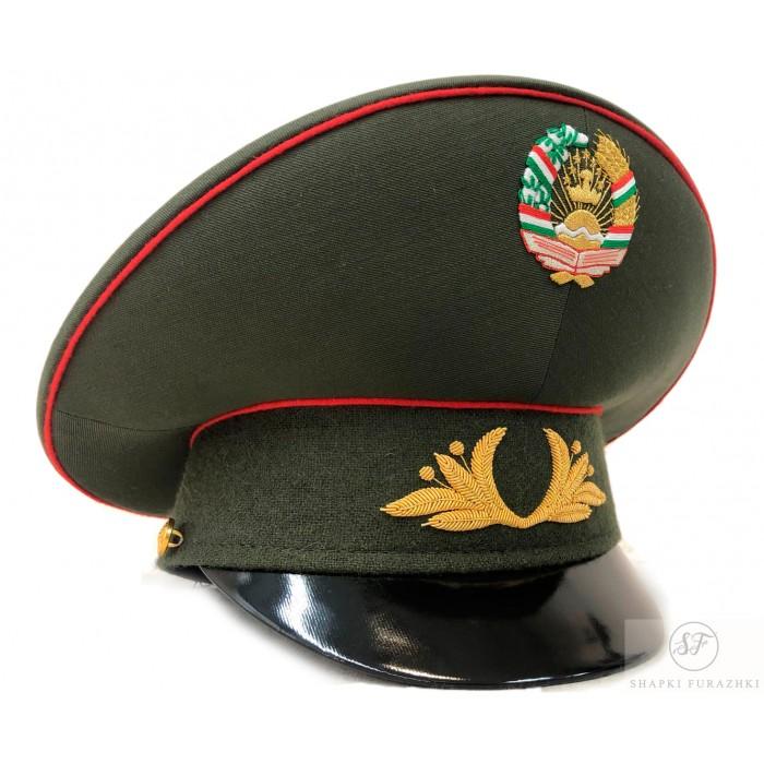 Фуражка с ручной вышивкой Таджикистан, индивидуальный заказ