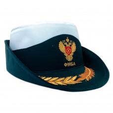 Женская форменная шляпа с машинной вышивкой F208