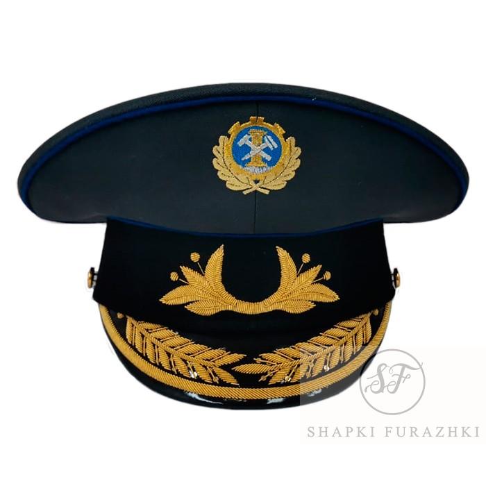 Фуражка Гостехнадзор для высшего состава G028