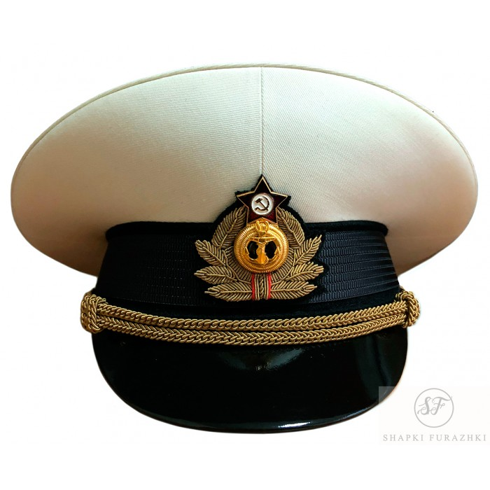Фуражка ВМФ с кокардой ручной вышивки
