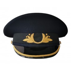 Фуражка Полиции офисная, ручная вышивка OF049