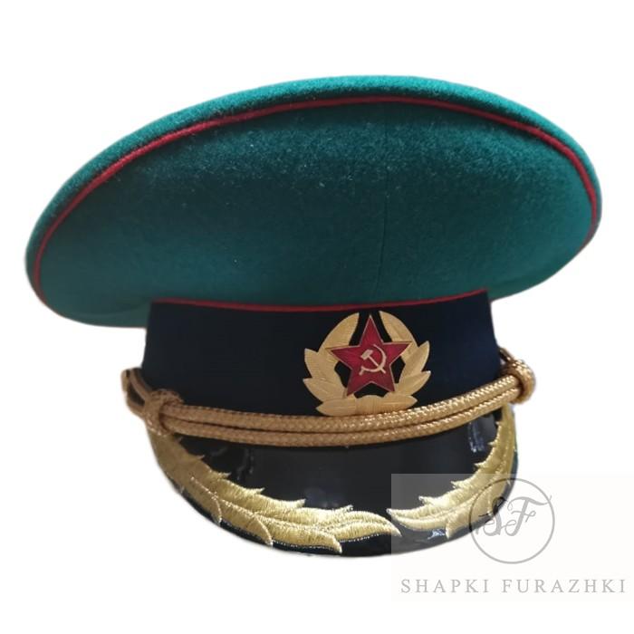 Фуражка Пограничная СССР с машинной вышивкой P005