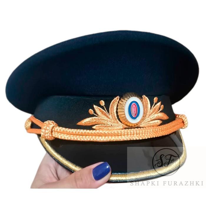 Фуражка Полиции, индивидуальный пошив, машинная вышивка F013-3