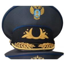 Фуражка Ространснадзор с ручной вышивкой G027