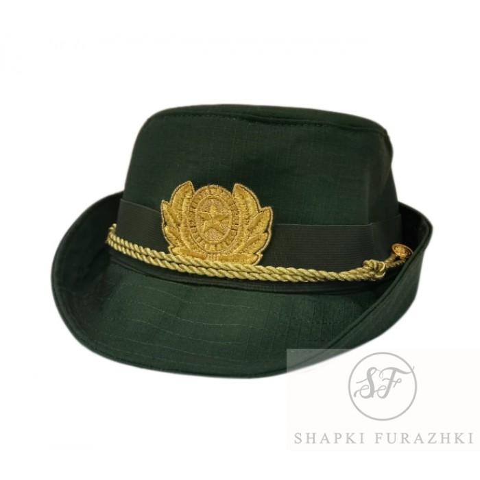 Женская офисная шапочка олива рипстоп F155