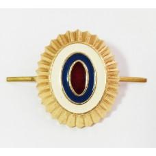 Кокарда металлическая МВД малая золотая FR016