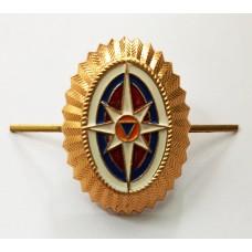 Кокарда-овал МЧС FR014