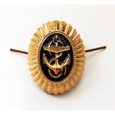 Кокарда-овал ВМФ РФ, рядовой состав FR002