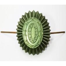 Кокарда-овал защитная FR010
