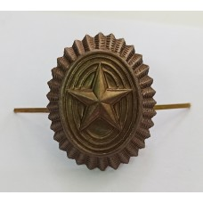 Кокарда-овал ВС РФ полевая со звездой FR008