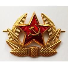 Кокарда со звездой СССР, рядовой состав FR005