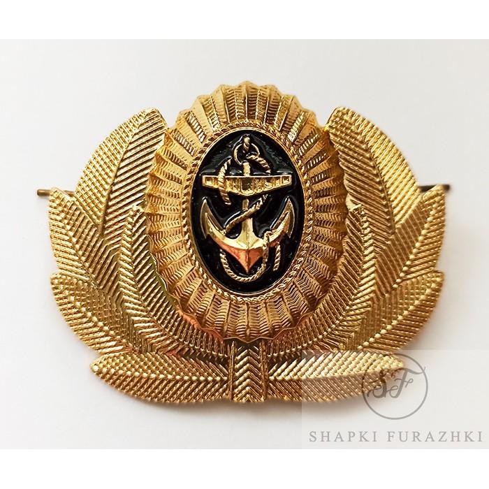 Кокарда Мичманов Военно-Морского Флота РФ (краб) FR006