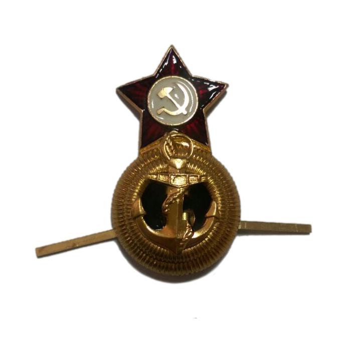 Кокарда ВМФ СССР, офицерский состав FR001