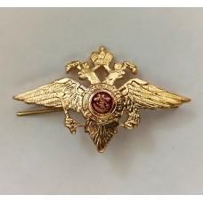 Орел на фуражку МВД (металл) FR037
