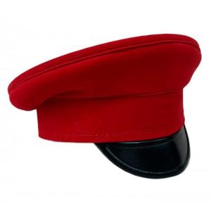 Фуражка историческая красная HC051