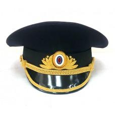 Фуражка офисная Полиции, ручная вышивка OF038