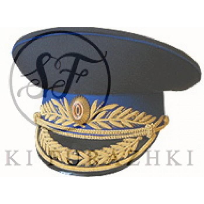 Фуражка ФСБ парадная с ручной вышивкой F006