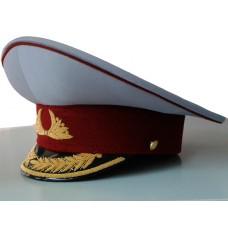 Фуражка ФСИН парадная с ручной вышивкой F028