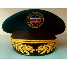 Фуражка МЧС пилот с машинной вышивкой F031
