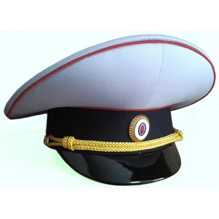 Фуражка Полиции парадная F016 (цена указана без учета фурнитуры)