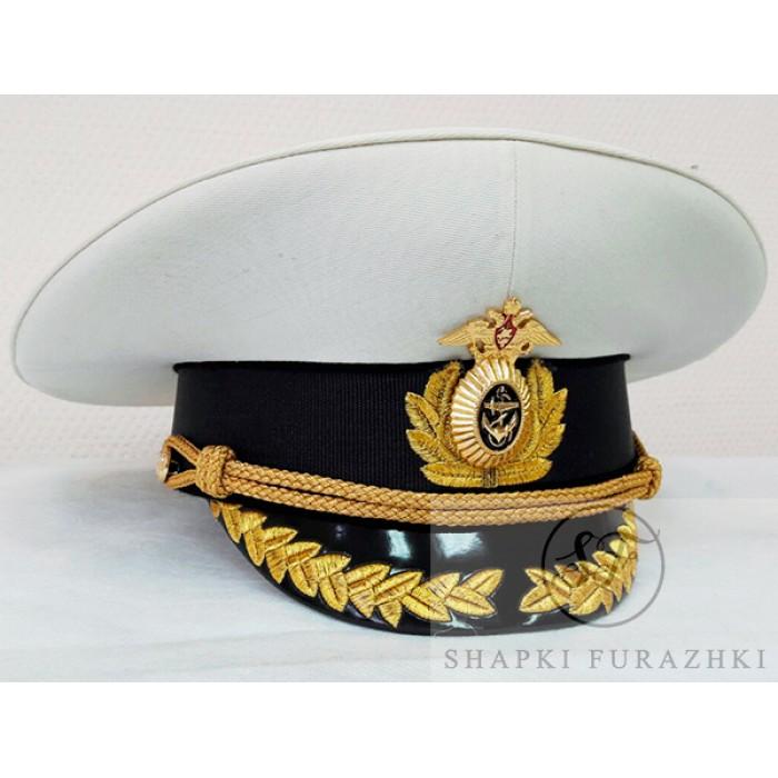 Фуражка ВМФ VMF008, машинная вышивка