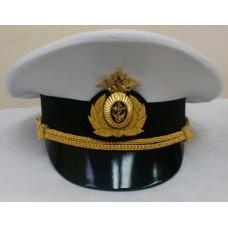 Фуражка офисная белая ВМФ OF015