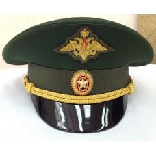 Фуражка офисная МО офицерская с орлом OF008