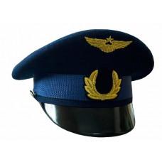 Фуражка офисная ВВС с машинной вышивкой OF021